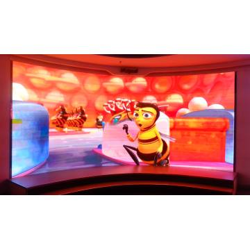 LED Video Panel Circle Led Tv