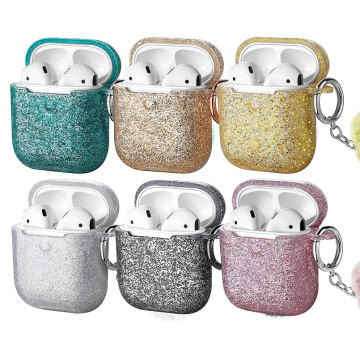 Drop Proof AirPods Protective Bling Glitter Silicone Case