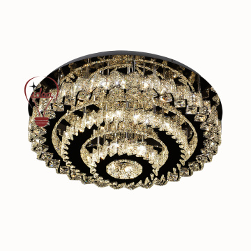 Household interior luxury crystal ceiling light