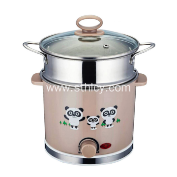 Stainless Steel Pot Mini Electric Pot for Cooking