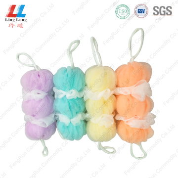 Luxury Long Mesh Bath Sponge