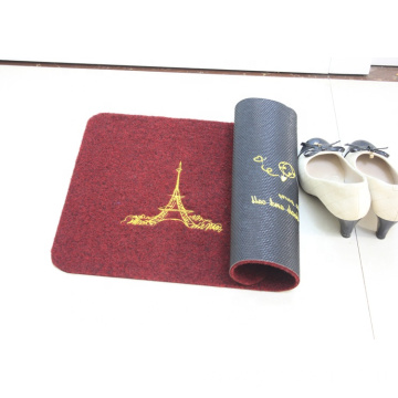 Eco-Friendly embroidered waterproof floor mats