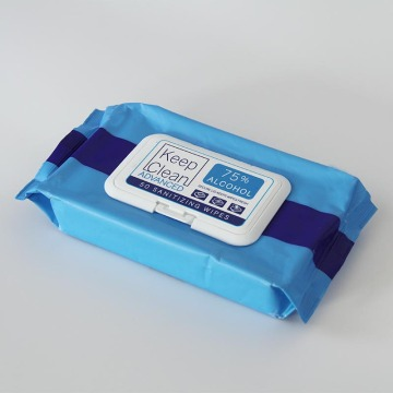 Anti Bacterial Sterilized Disposable Alcohol Wipes