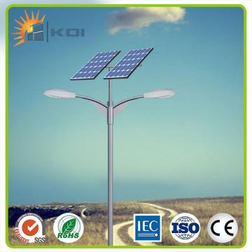 Outdoor solar powered led lighting system