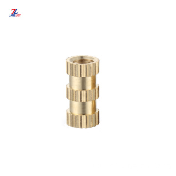 M1.4 straight  knurled  brass insert nut