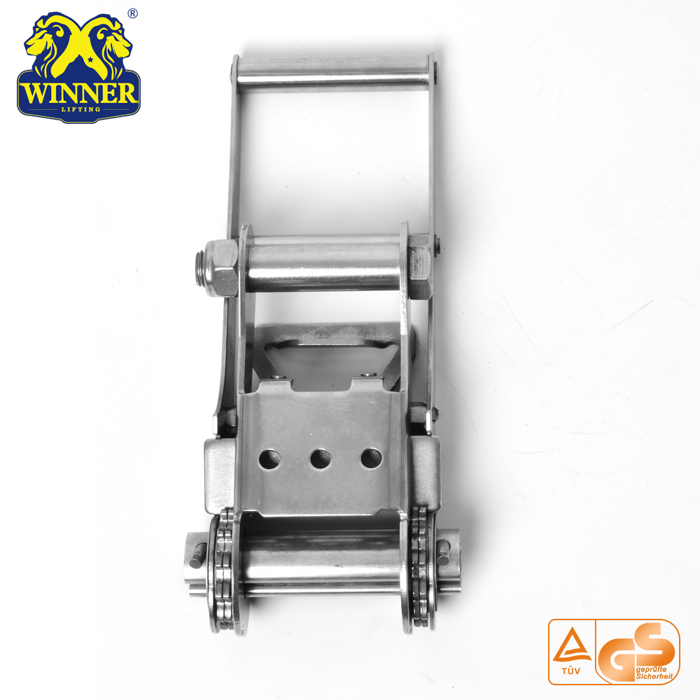 "3"" Long Handle Steel Ratchet Buckle For 10000KG"