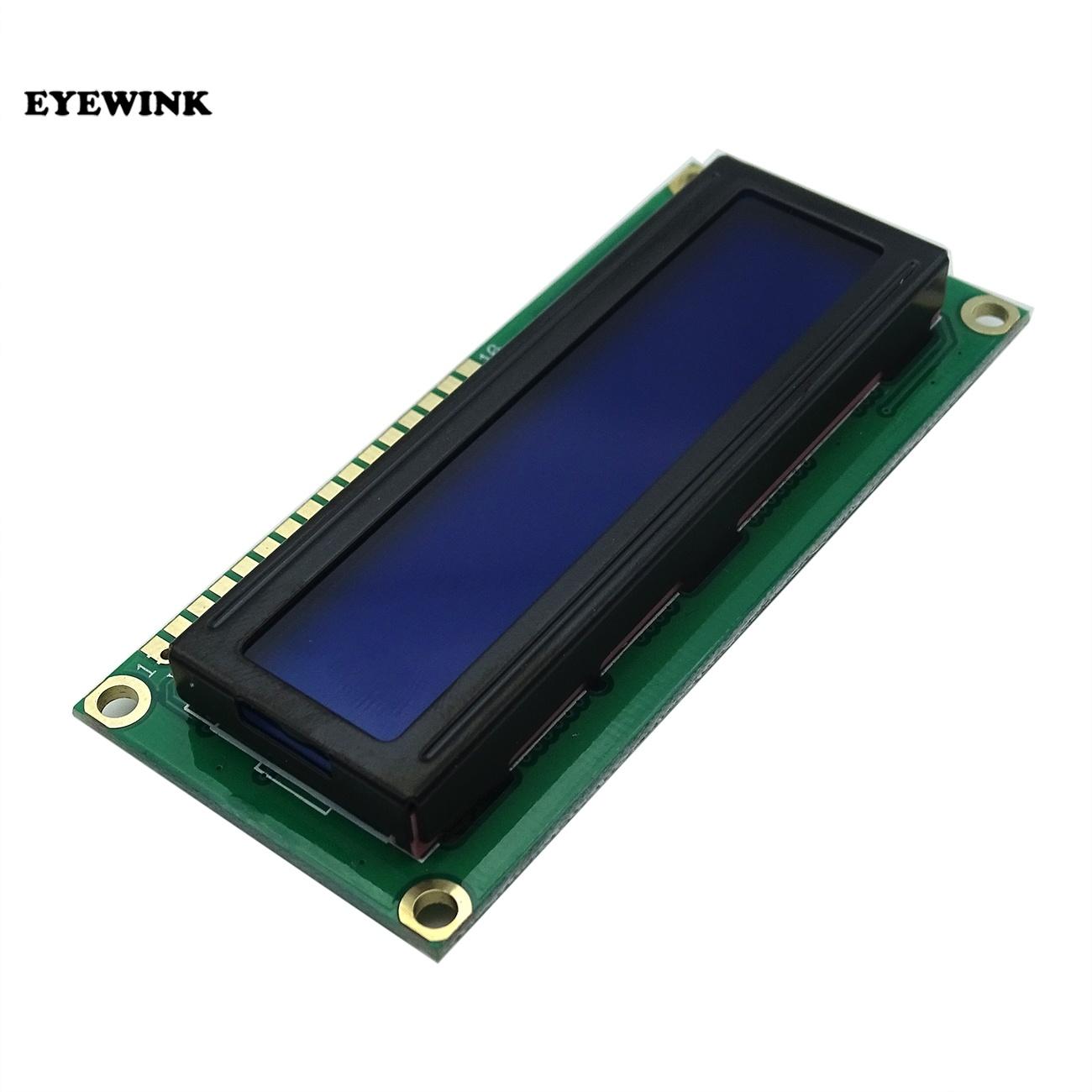 1pcs/lot 1602 16x2 Character LCD Display Module HD44780 Controller Blue/Green screen blacklight LCD1602 LCD monitor 1602 5V
