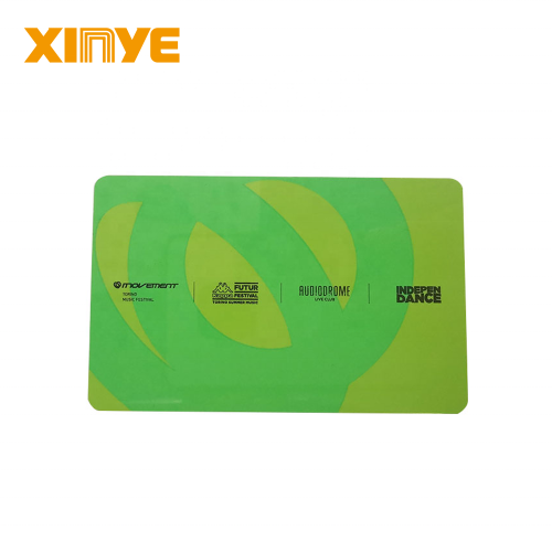 HF RFID Custom Preprinted PVC Smart Cards