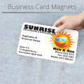 Custom Printed Magnetic Business Card