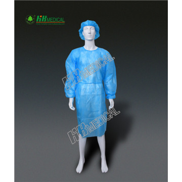Polypropylene and PE Film Lamination  Surgical Gown