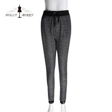 Stylish Autumn High Waist Drawstring Pant for Women