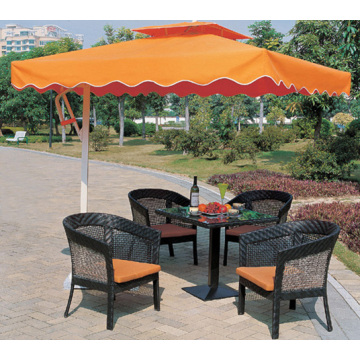 All Weather Dining Set with Weaving Style