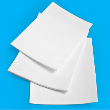 White 10 mm Plastic PtfePlate