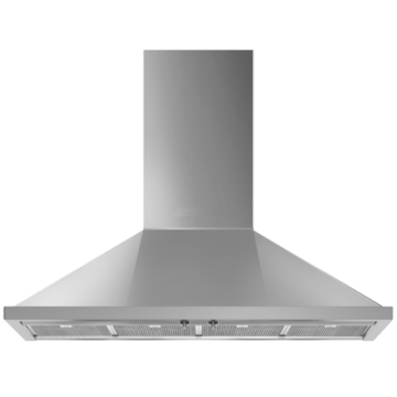 900mm Smeg Pyramid Hood Steel