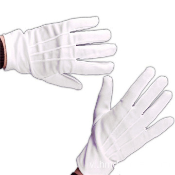 Găng tay đồng phục Marching Band White Parade Gloves