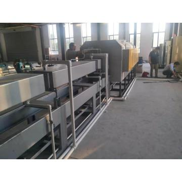 Mesh belt bright quenching heat treatment furnace