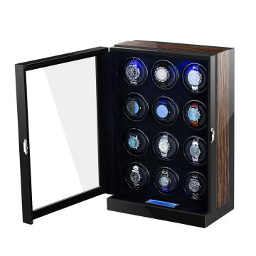 Multi-rotor Watch Winder For 12 Watches