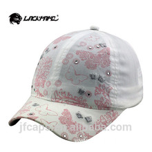 3D Embroidery Sport Golf Hat 6 Panel