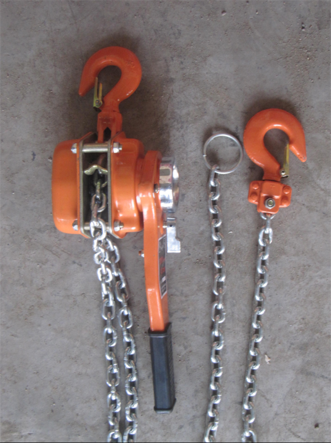 Construction Lifting Equipment Lever Hoist