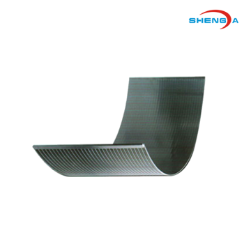 Fishpond Water Treatment Curve Screen