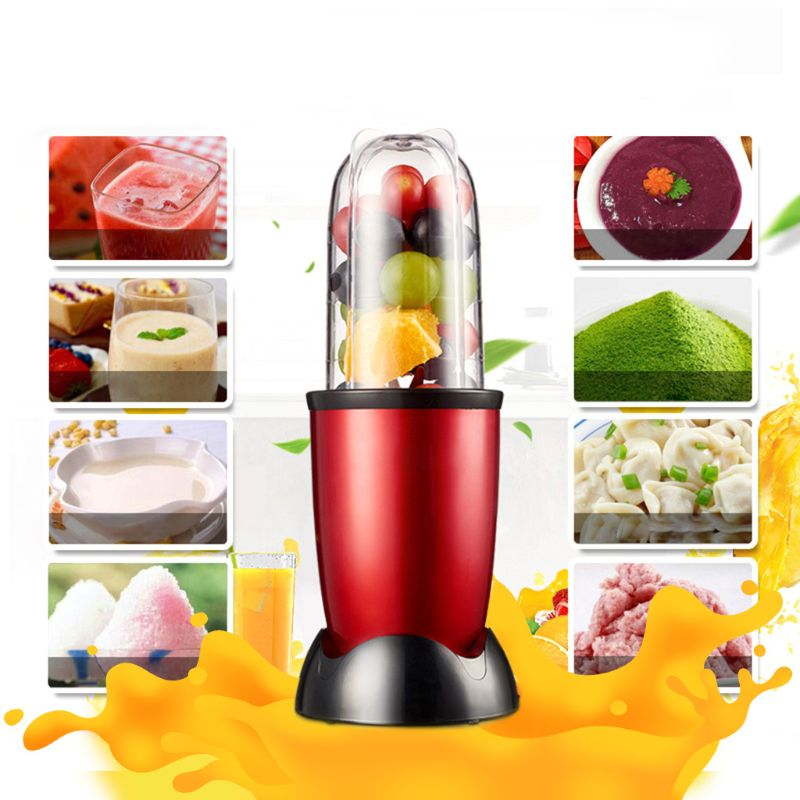 Multi-functional Electric Food Processor Juicer Blender Stainless Steel Blade Household Juice Maker Soybean Milk Dessert Drink K