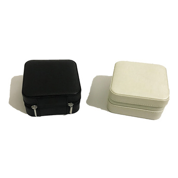 White earring jewelry box