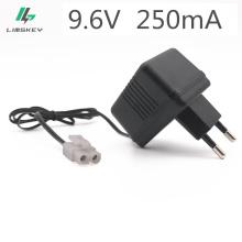 Charger For 9.6V Ni-Cd Ni-MH Battery Input AC 110V-240V Output 9.6V 250mA With Tamiya KET-2P Plug For RC Toy