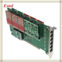 Hot sale 24 ports PCI-Express asterisk fxo fxs card,elastix card, trixbox card,Freeswitch pbx,TDM800P/AEX800/TDM2400P/AEX2400