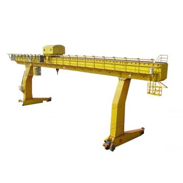 8 ton single beam gantry crane drawing