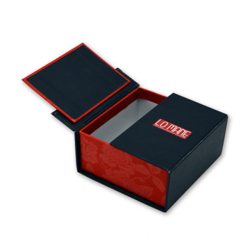 High Quality Jewelry Double Open Button Box Packing