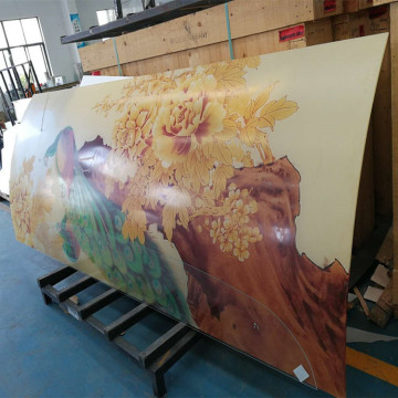 Tempered Laminate Digital Printing On Glass