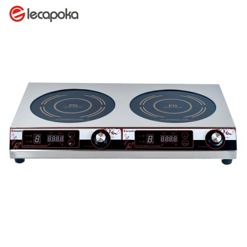 cooktop electric 2 burner