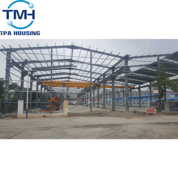 Factory Wholesale Fabricator Steel Workshop Building