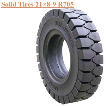 Industrial Forklift Field Vehicles Solid Tire 21×8-9 R705
