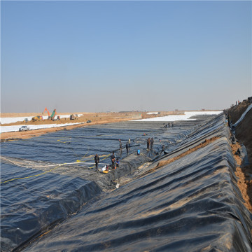 HDPE Smooth Geomembrane for Construction Companies