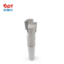PCD internal groove iso end milling length
