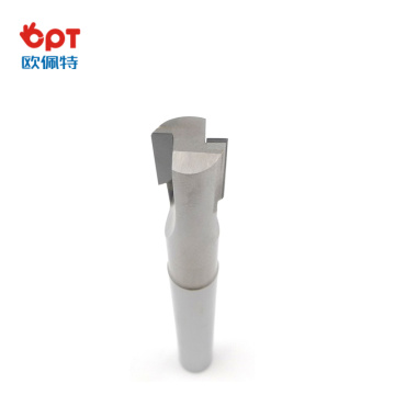 PCD end mill key cutter long for steel