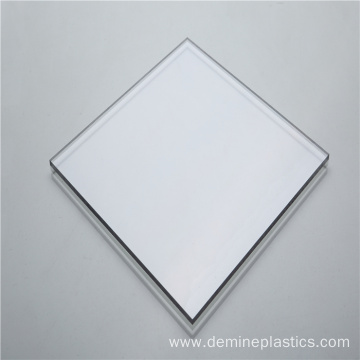 Excellent glossy solid transparent polycarbonate sheet