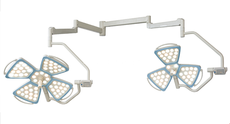 flower shape design ceiling surgical operating lamp