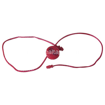 Price tags with elastic string