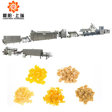 Cornflakes cereal machine corn flakes processing equipment