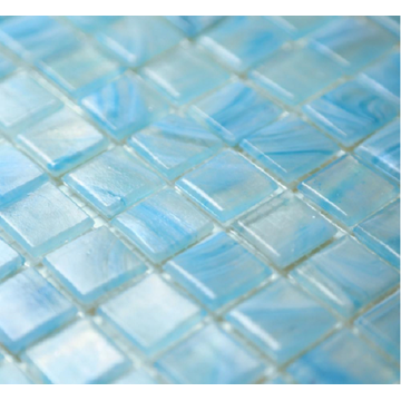 Swimming Pool And Aquarium Glass Mosaic Floor Tiles