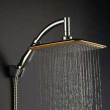 sanitaryware high-pressure shower head bathroom shower single function square overhead shower