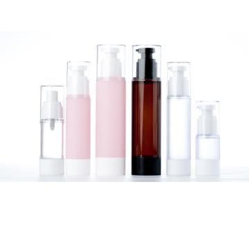 Spray frosted emulsion essence in vacuum bottles