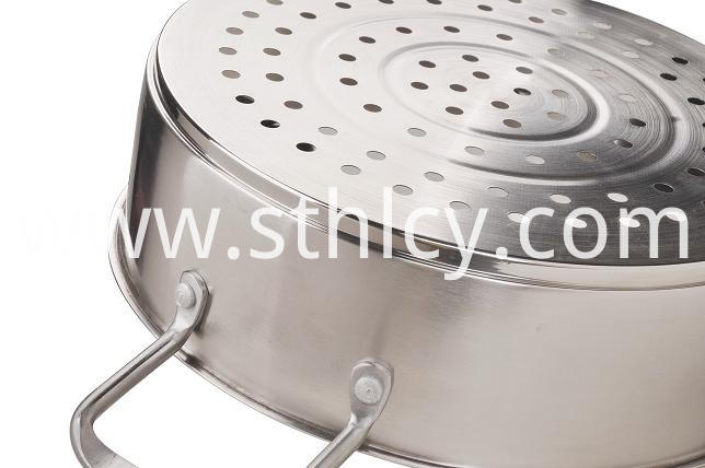 Silver Kitchen Cookware