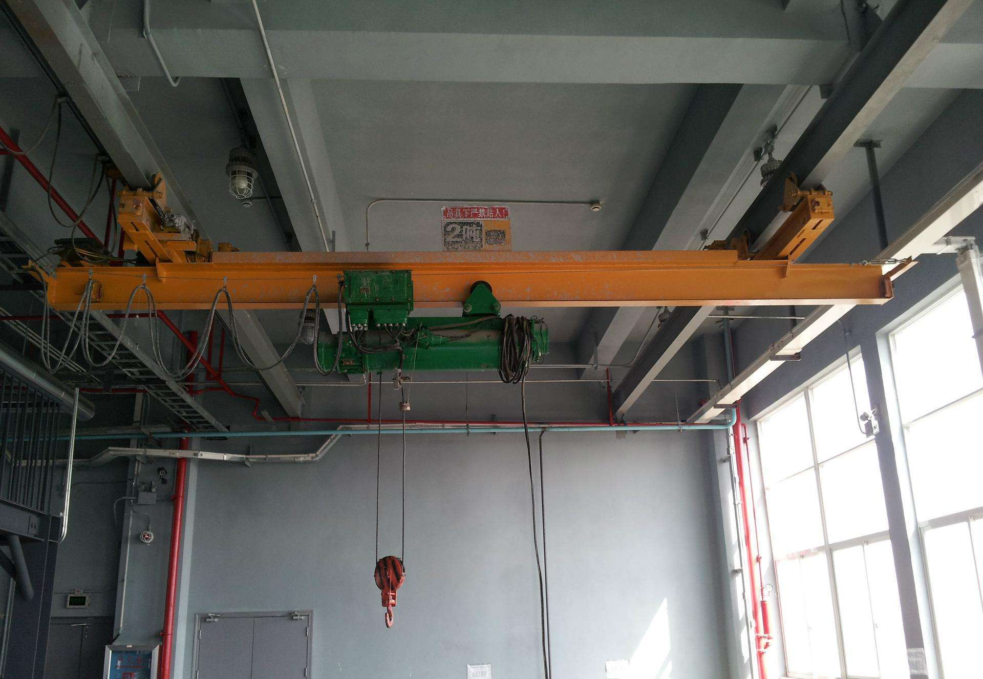 Electric Single Overhead Crane