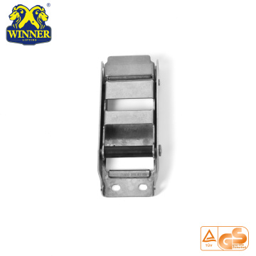 "Heavy Duty 2"" Customized Overcenter Buckle With Plastic Tube"