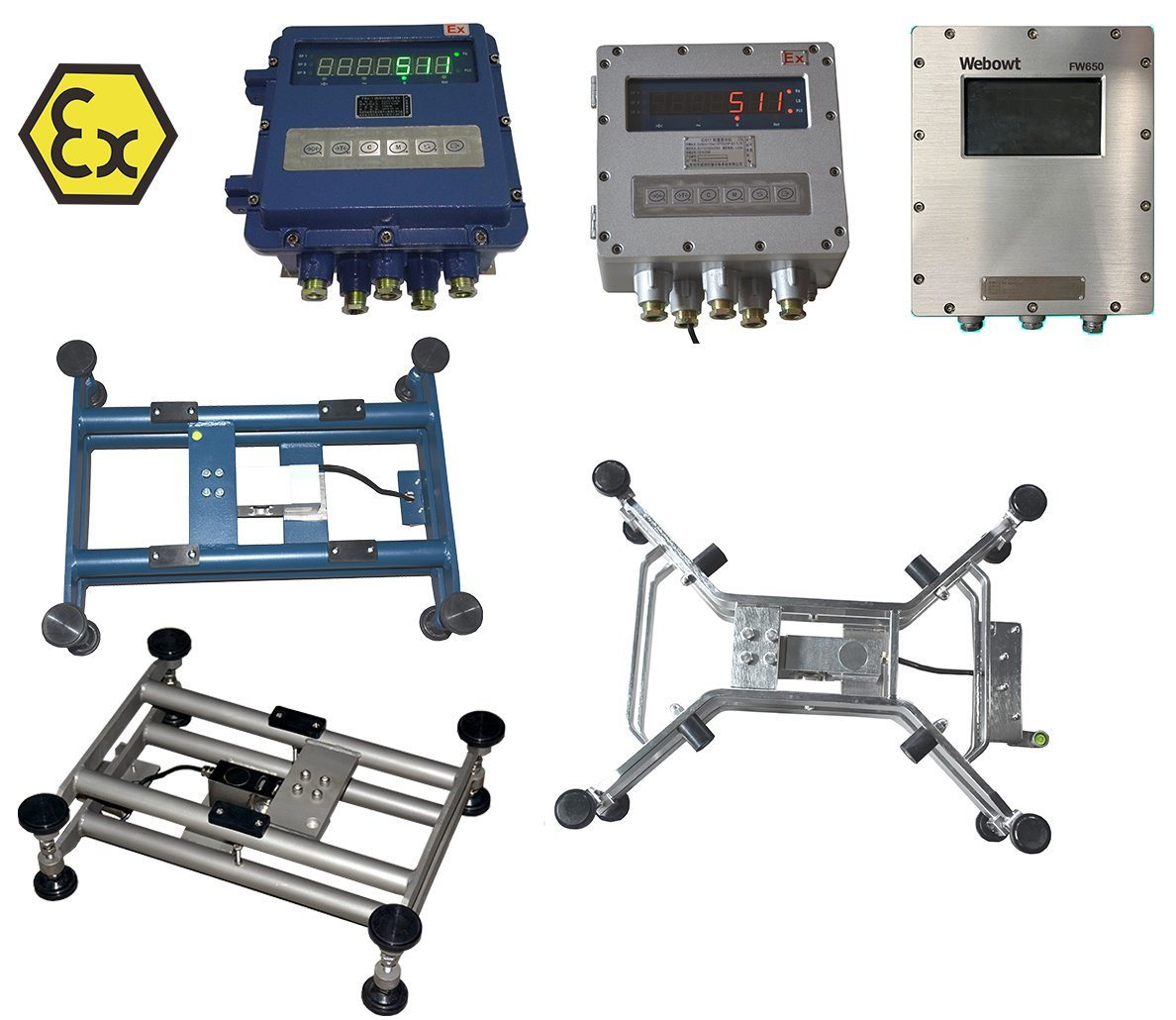 Intrinsically Safe Explosion-Proof Electronic Scale