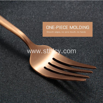 304 Gold Stainless Steel Forks