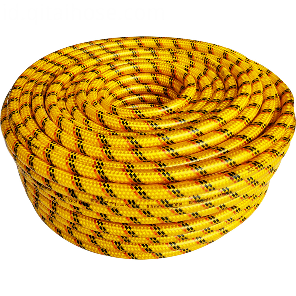 Color Polyester Weaved Reinforce Plastic Hose
